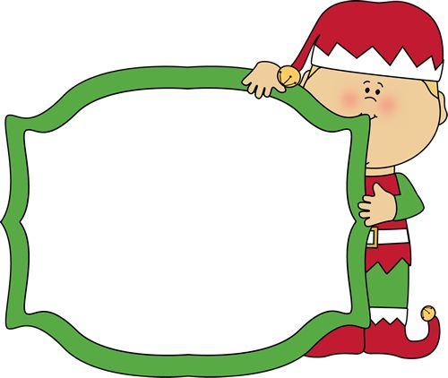 500x422 Christmas Elf Clipart