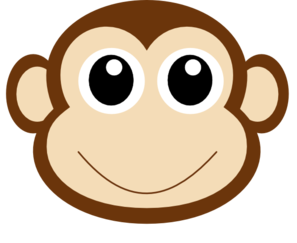 297x243 Monkey Face Clip Art Many Interesting Cliparts