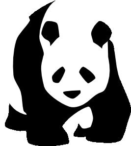 267x298 Panda 1 Clip Art