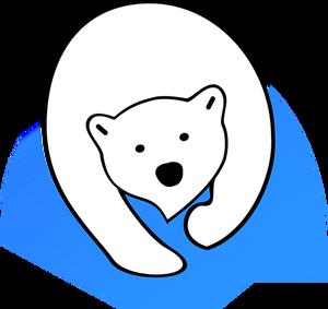 Panda Head Clipart