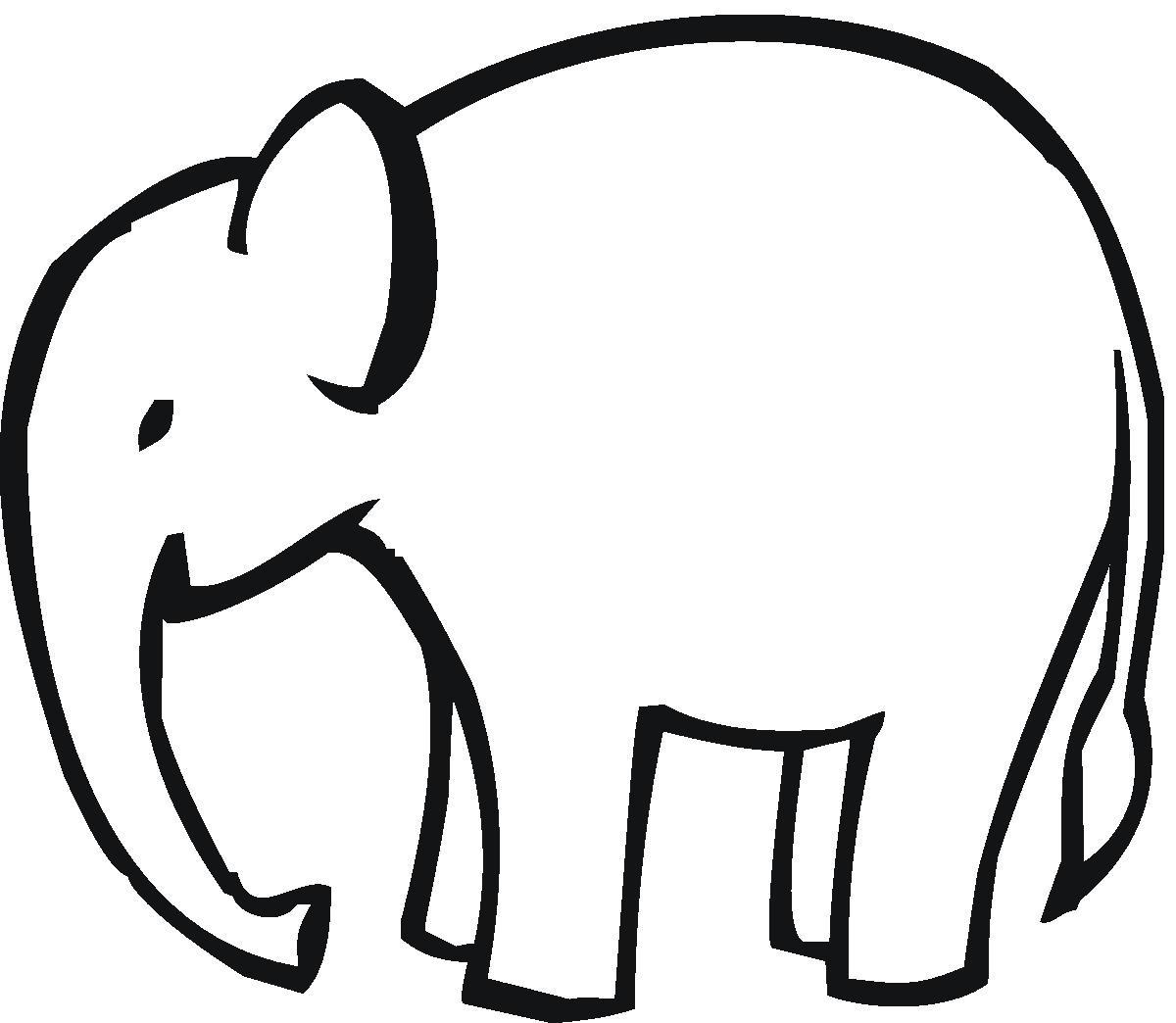 1200x1044 Elephant Face Clipart