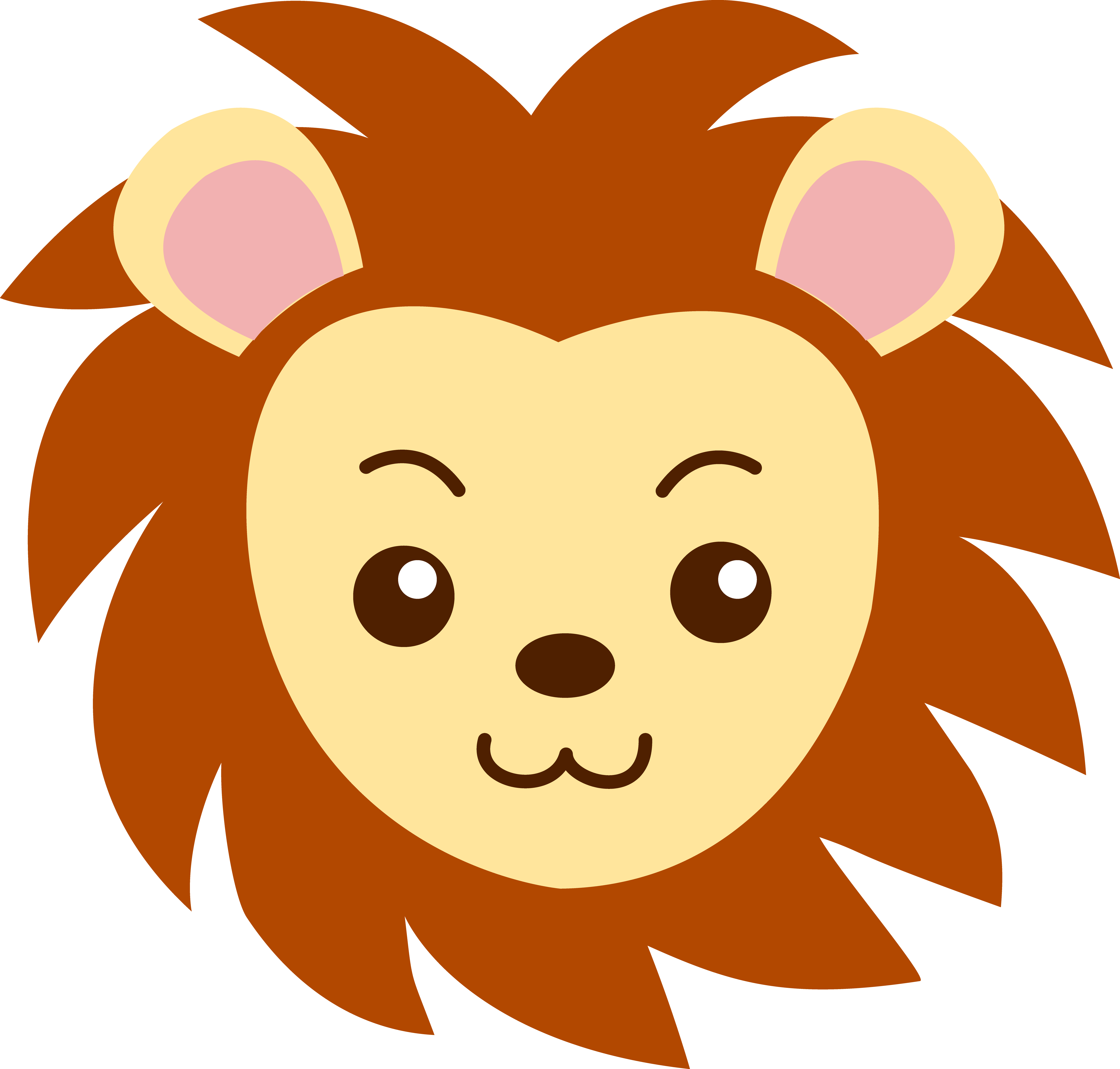 5148x4912 Lion Head Clip Art Clipart Panda