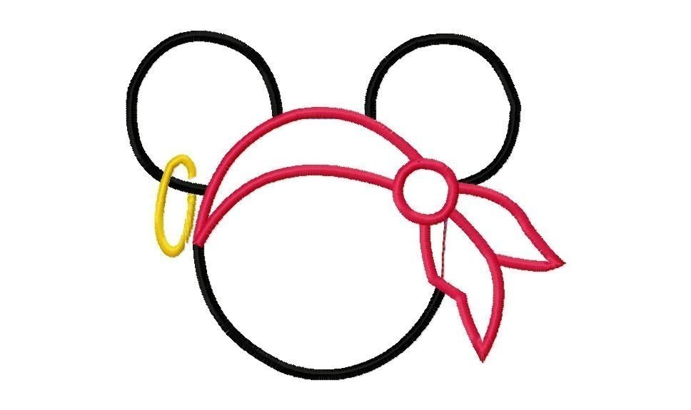 968x575 Mickey Mouse Ears Clip Art