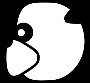 300x276 Panda Head Clip Art