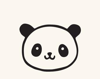 340x270 Panda Clipart Silhouette