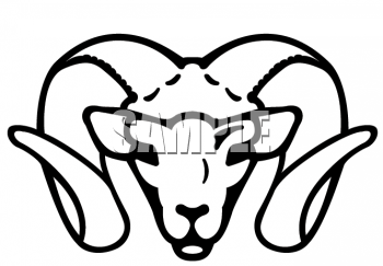 350x243 Ram Animal Clipart