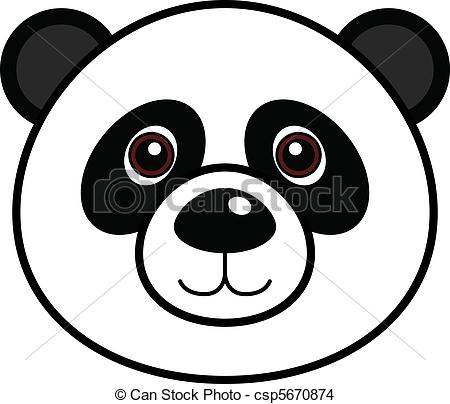 450x404 Red Panda clipart panda head