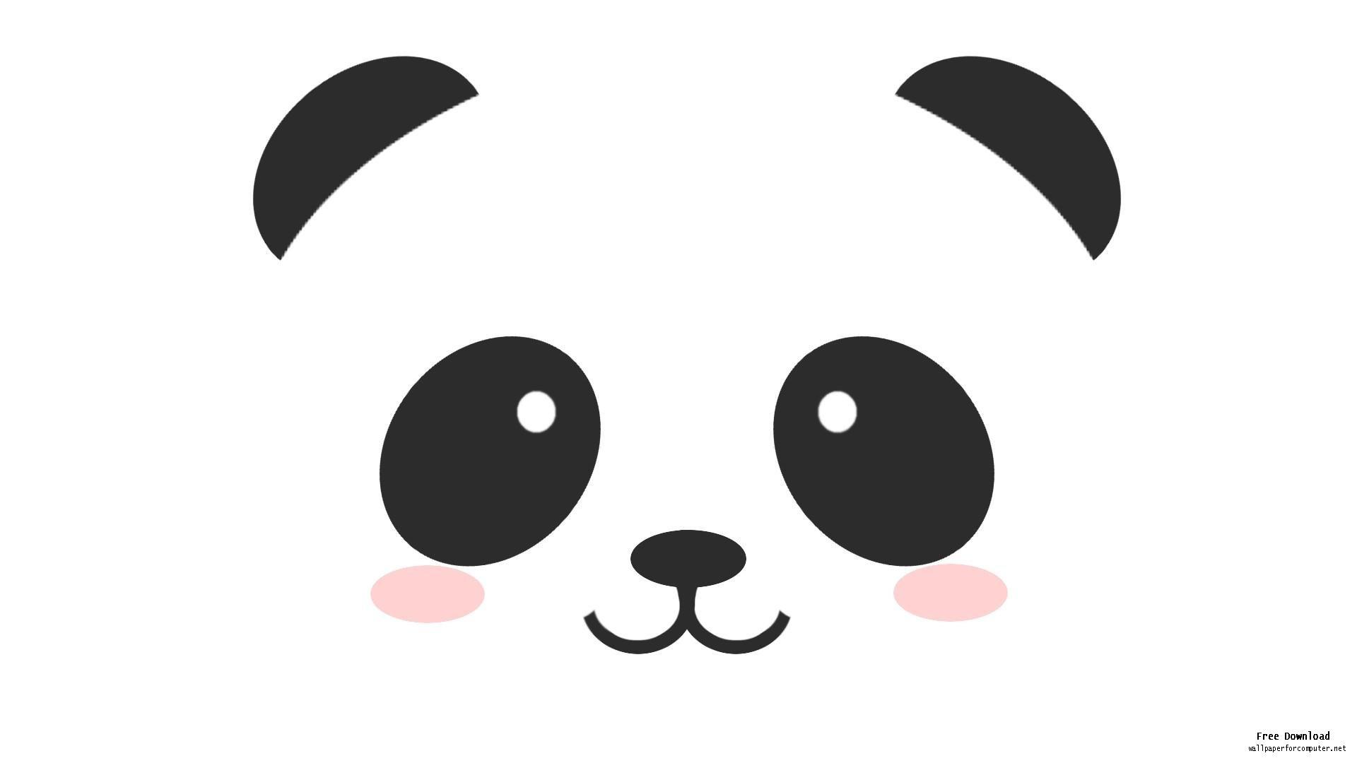 1920x1080 Panda Clipart