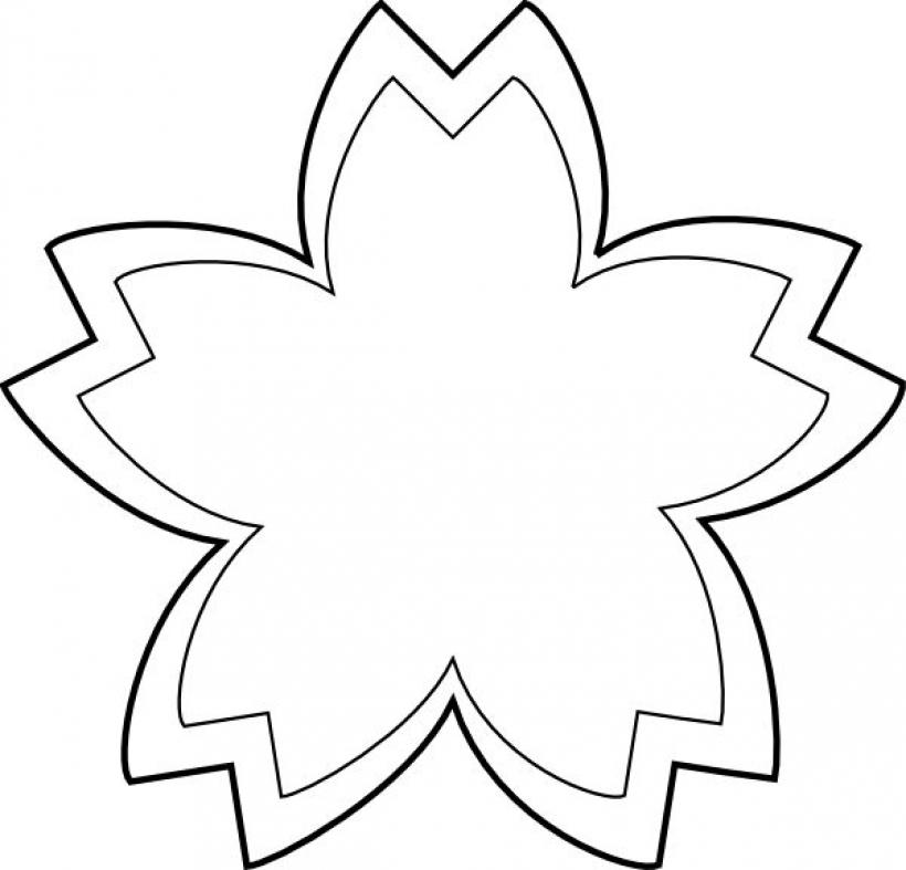 820x787 Flower Clip Art Outline Clipart Panda Free Clipart Images