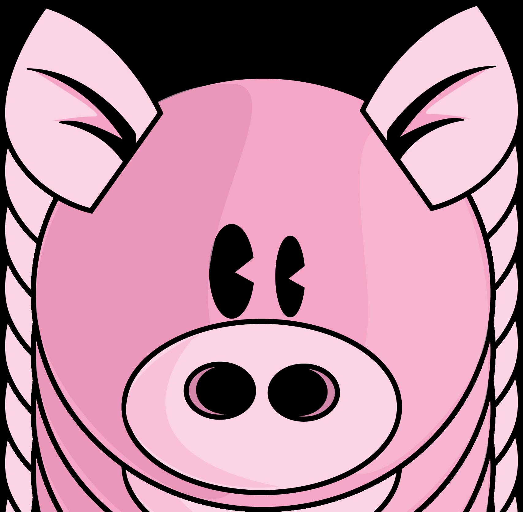1707x1673 Masks Clipart Pig