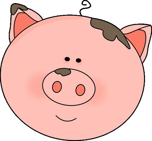 500x466 Mud clipart pig
