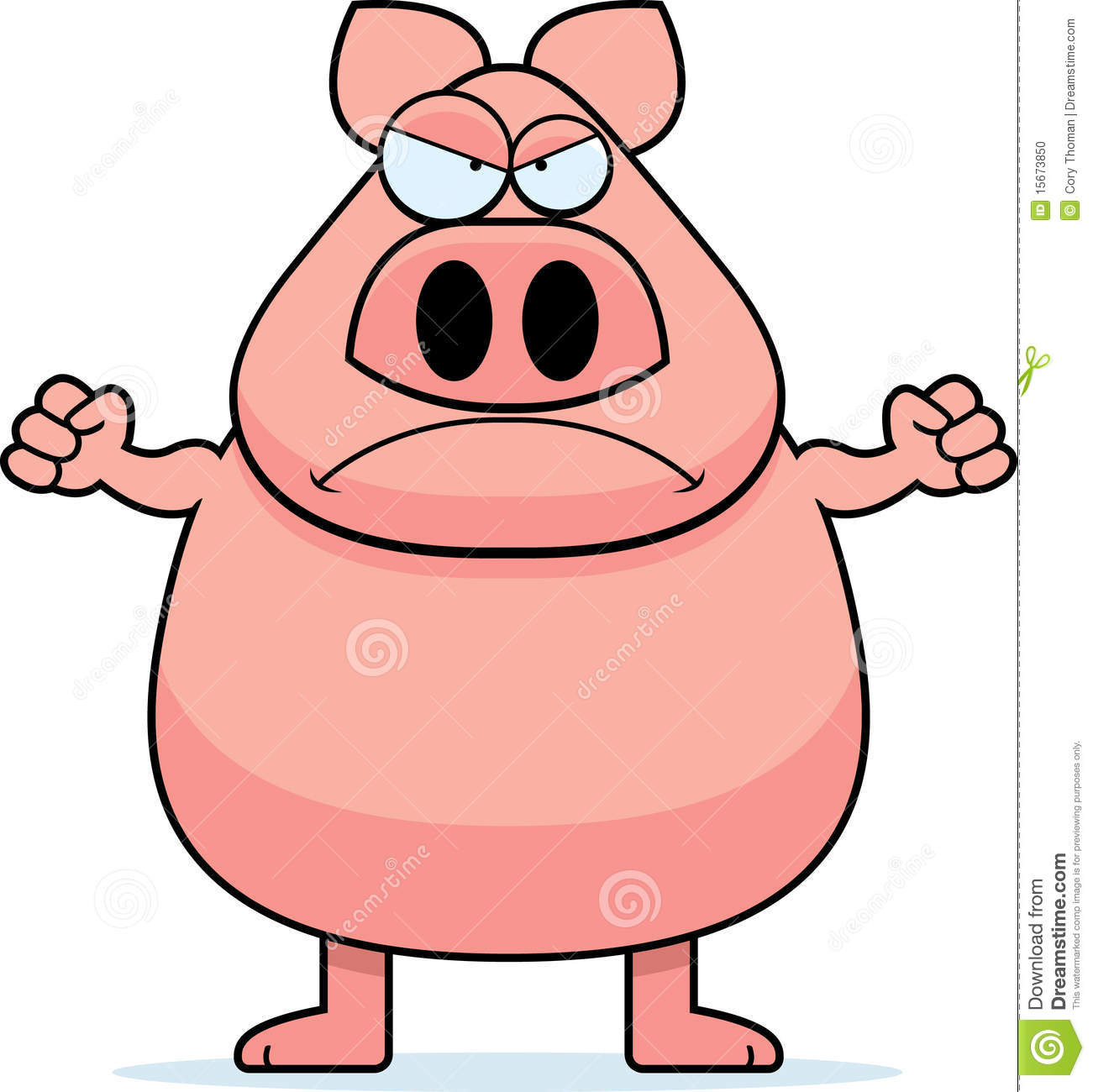 1301x1300 Big Bad Pig Clipart