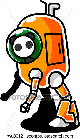 272x470 Clip Art of A panda in a space suit rwu0012