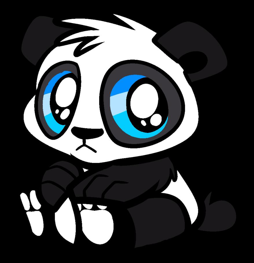 878x910 Cute Panda Bear By Parry90118