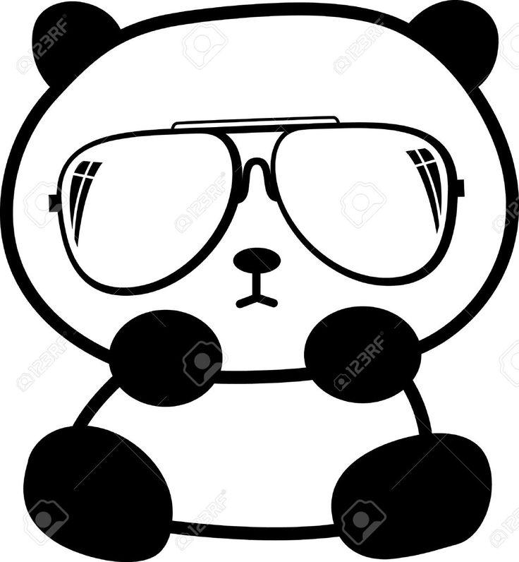 736x796 Drawn Seal Panda