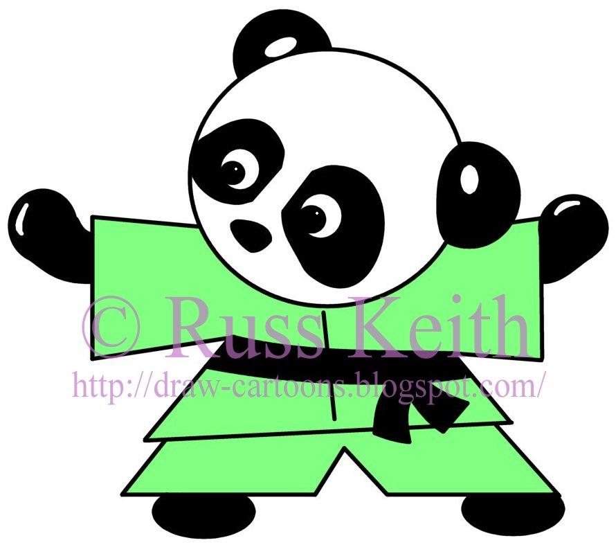 890x790 How To Draw Cartoons How To Draw A Panda Bear