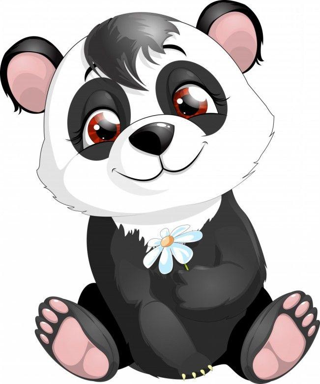651x780 34 Best Cartoon Panda Bear Images Panda Bears