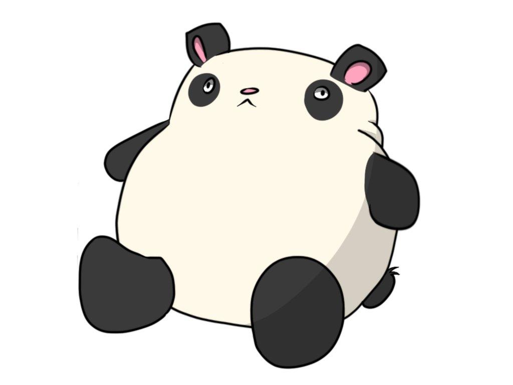 1024x768 Photo Collection Fat Cartoon Pandas Funny