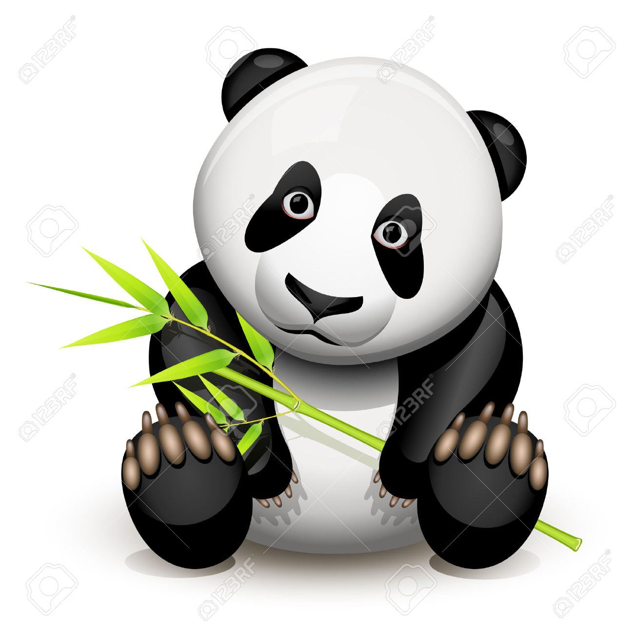 1300x1300 Bamboo Clipart Cartoon