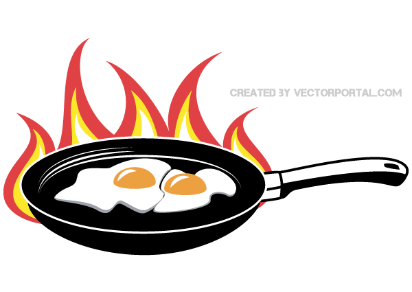 600x425 Graphics For Hot Frying Pan Graphics