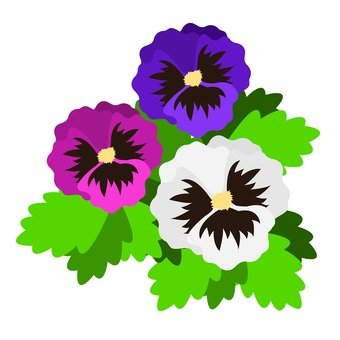 340x340 Free Silhouettes Flower, Up, Art