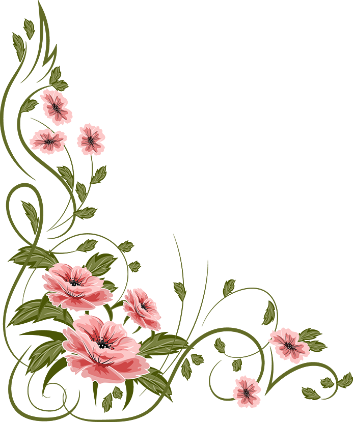 693x829 Pansy Clipart Border