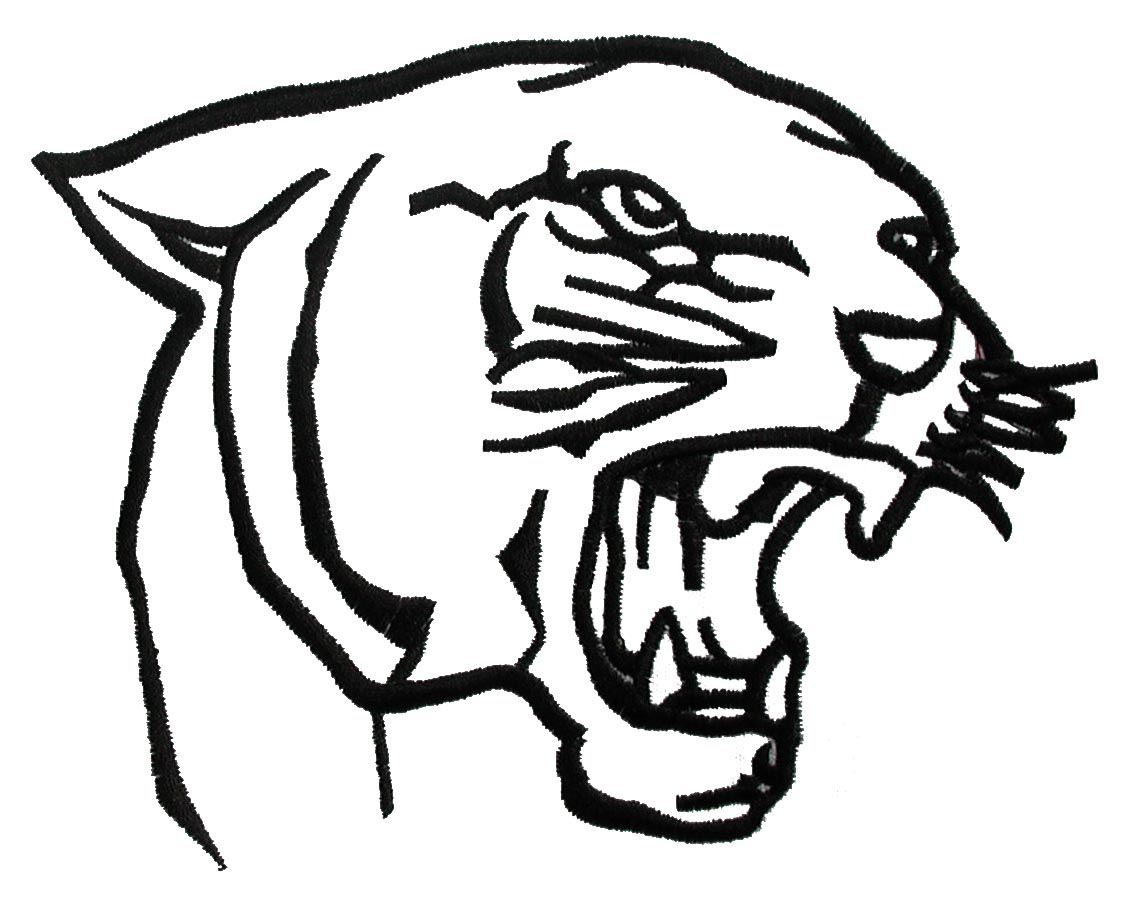 Panther Clipart Black And White | Free download on ClipArtMag