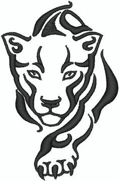 236x358 Awesome Panther Tattoo Tattoos Tattoo, Tatting