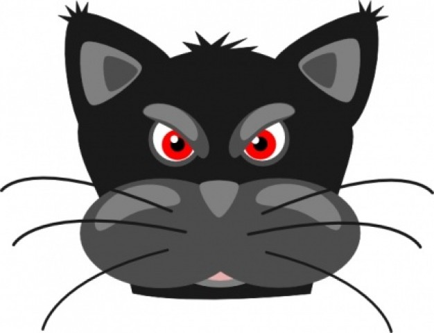 626x480 Cartoon Close Up Head Panther Logo Clipart