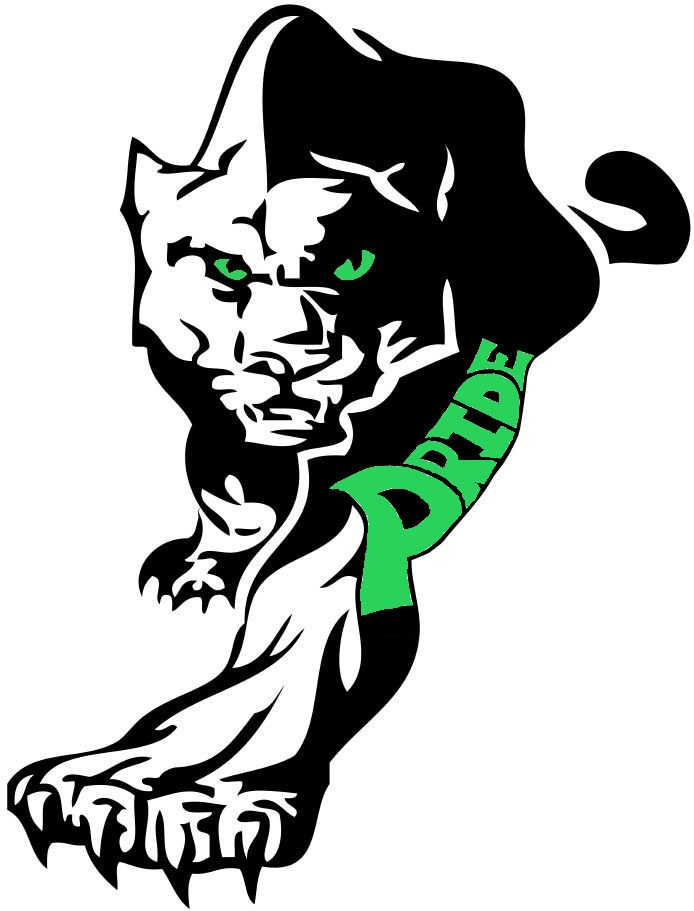 694x911 Green Panther Logo
