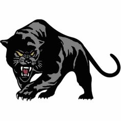 236x236 Panther Logo Clip Art Carolina Panthers New 2012 Custom Full