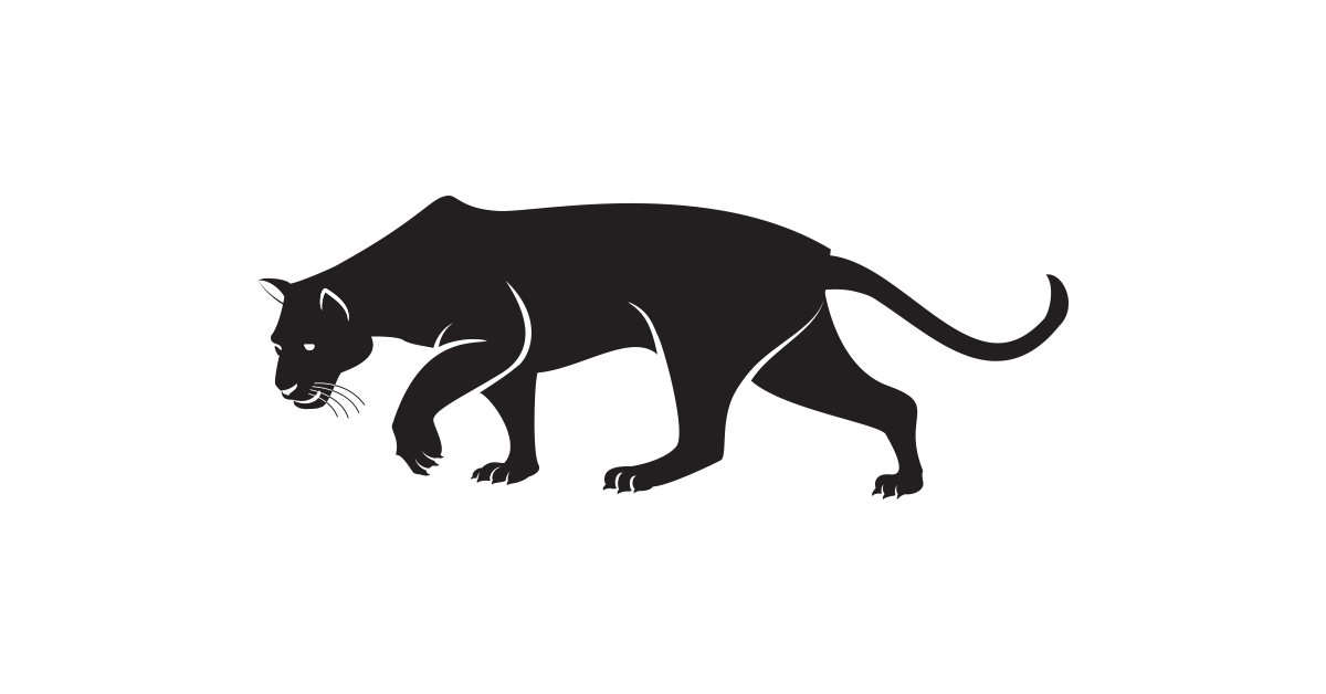 1200x628 Panther Logo Template Free Vector And Png The Graphic Cave