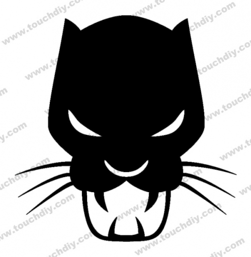 499x511 Black Panther Logo