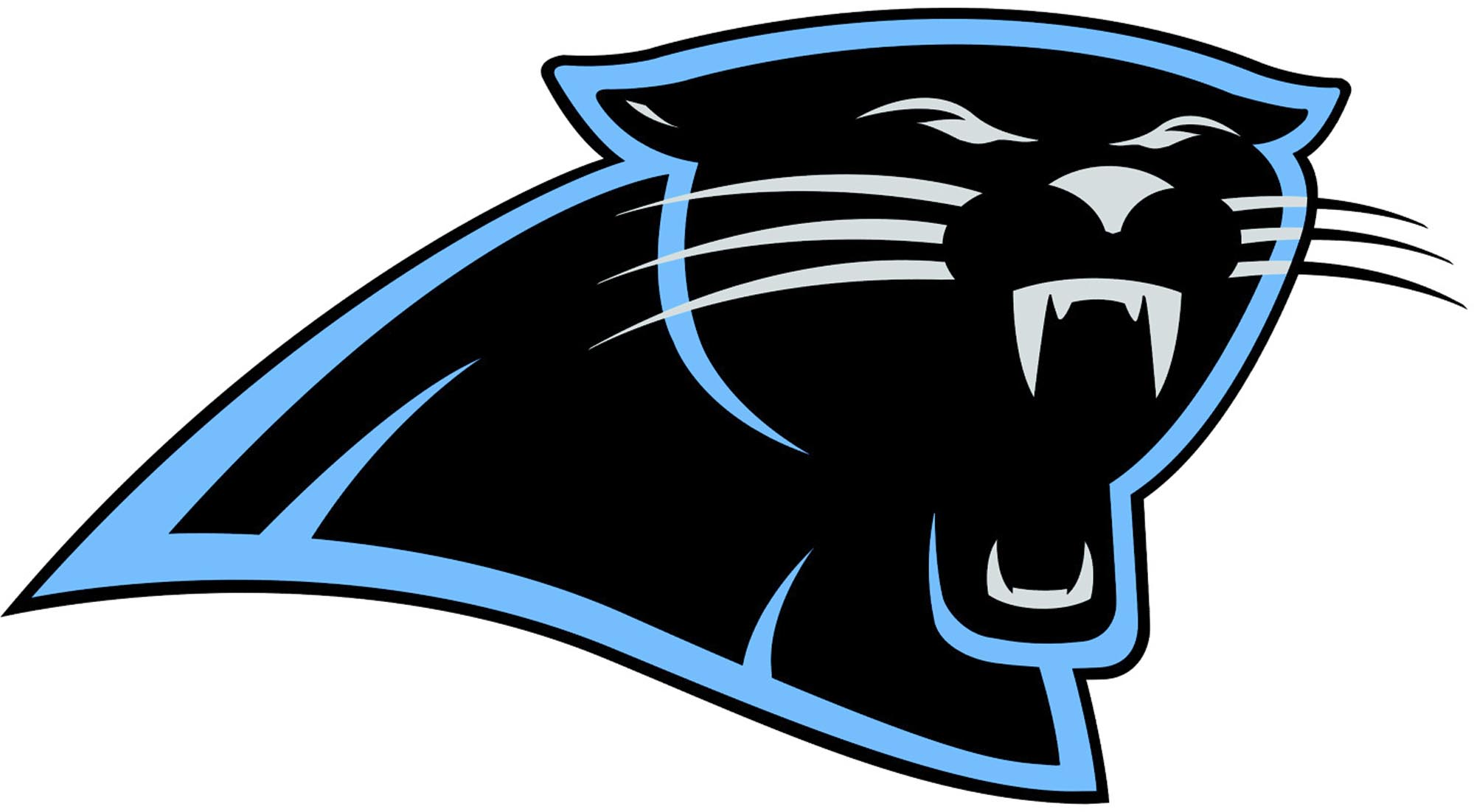 1999x1102 Panther Clipart Nfl