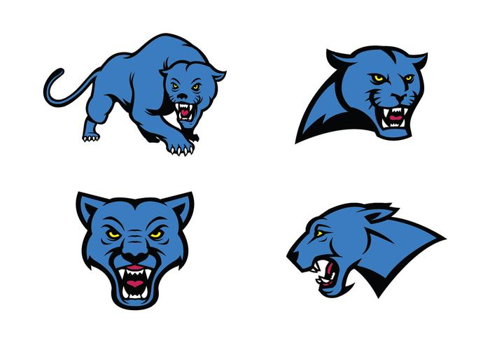 700x490 Free Panthers Vector