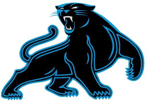 517x355 Panther Logo Clip Art Carolina Panthers New 2012 Custom Full