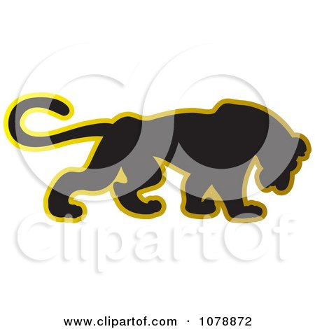 450x470 Royalty Free (Rf) Clipart Of Panther Logos, Illustrations, Vector