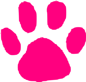 298x282 Julie Blog Small Panther Paw Clip Art
