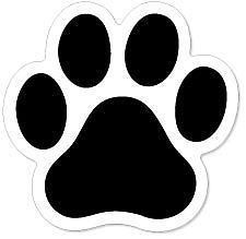 225x219 Best Paw Print Clip Art Ideas Paw Print Drawing
