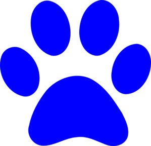 299x288 Panther Paw Clip Art