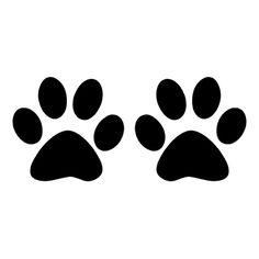 236x236 Panther Paw Print Clip Art