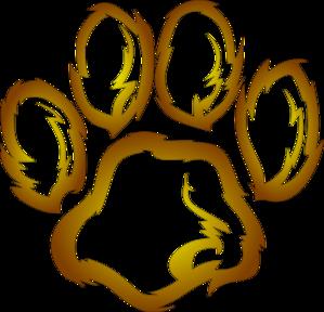 299x288 Paw Clipart Lion'S