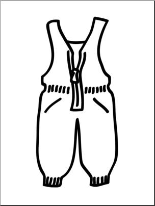 304x404 Clip Art Basic Words Snow Pants Bampw Unlabeled I