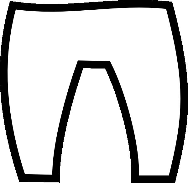 600x585 Elf Pants Clip Art