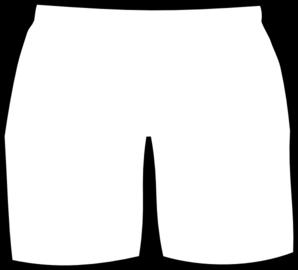 298x270 Short Pants Cliparts