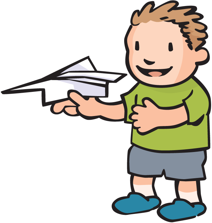 700x738 Flying Paper Airplane Clipart