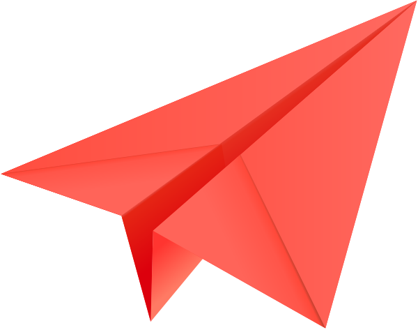 600x473 Paper Airplane Clipart