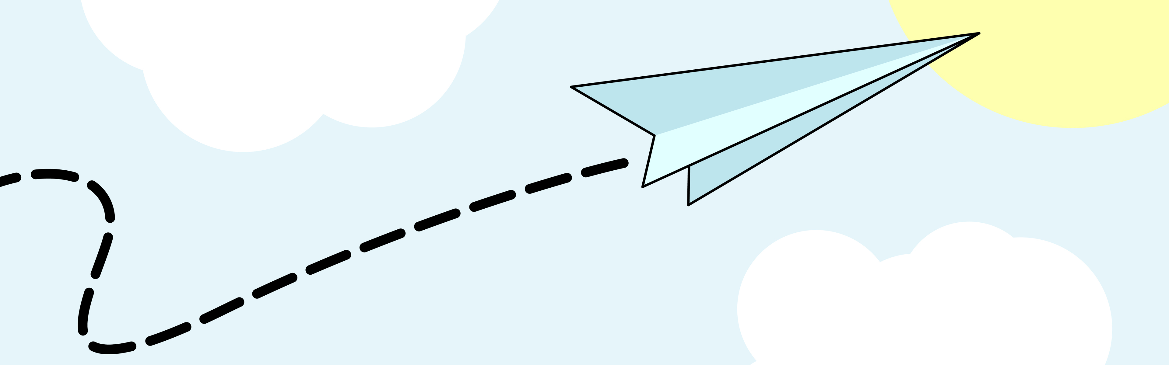 3840x1200 Best Paper Airplane Clipart