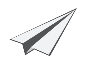 287x220 Drawn Airplane Paper Aeroplane
