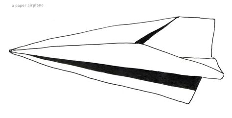 474x241 Paper Airplane Drawing Backgrounds